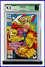 X-Force #12 CGC Graded 9.2 Marvel July 1992 Signed White Pages Comic Book