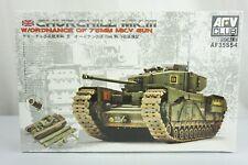 AFV Club AF35S54 Churchill Mk III w/ QF 75mm MK V Tank 1:35 Scale Model Kit