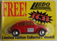 """Lledo – VW Käfer rot """"Diecast Collector"""" Neu/OVP"""