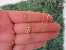 .30 CTW Diamond Necklace 18k Yellow Gold JS59N sep