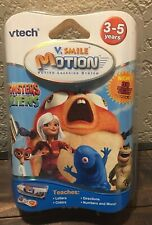 Vtech V.Smile Motion Monsters vs Aliens Active learning 3D glasses Ages 3-5  NIP