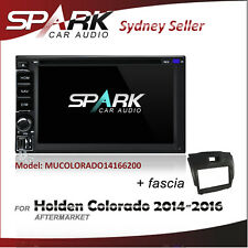 SP CARPLAYER ANDROID AUTO GPS DVD SAT NAV IPOD BT FOR HOLDEN COLORADO 2014-2016