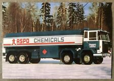 1981 Sisu M 168 CEV-8 x 2/1800 + 4500 + 1200 original Finnish sales brochure