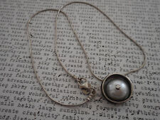 Silpada Sterling Silver Freshwater Pearl Pendant Necklace N1498   TS6332