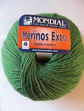 Mondial Merinos Extra: Emerald Green, 100g