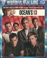 RARE / BLU RAY - OCEAN' S 13 avec GEORGE CLOONEY, BRAD PITT ( NEUF EMBALLE )