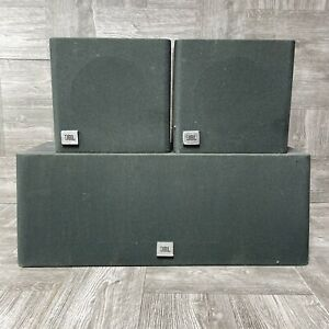 JBL FLIX 1 Surround Sound Speakers Center + Left/Right Channel