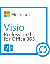 Microsoft Office 365 Visio - 1 Nutzer (5 PCs) - 1 Jahr  - Download - NEU - OL