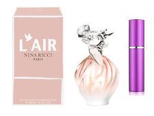 NINA RICCI L'AIR RICCI 5ML EDP PERFUME IN PINK REFILLABLE TRAVEL ATOMISER 58