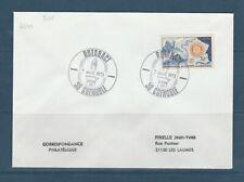 FRd enveloppe  Rotary  Rotaract  38 Grenoble 1973