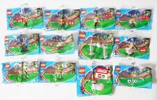 LEGO Coca Cola Japan Mini Figure Minifig Football Soccer Lot of 12 Polybag