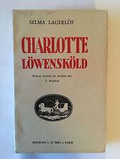 CHARLOTTE LOWENSKOLD 1935 SELMA LAGERLOF