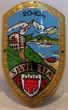Silvretta used badge mount stocknagel hiking medallion G2608