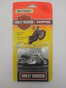 Matchbox Harley Davidson Chopper (1993) - Silver