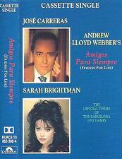 Carreras & Sarah Brightman Amigos Para Siempre Friends For life CASSETTE SINGLE