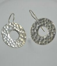 Thai Silver Earrings Nepal India Tibet Mexican Handmade by Hill tribe community