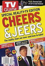 TV Guide - July 25-31, 2004 - Reality TV, Donald Trump, Paris Hilton George Eads