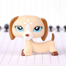 Littlest Pet Shop Collection LPS Figure #1491 Blue Eye Dachshund Dog Toy