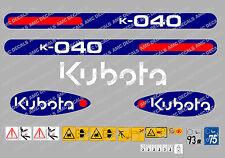 Kubota Kx161-3 Mini Digger Autocollant Autocollant Completes