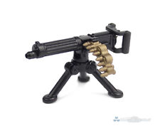 BrickArms Vickers Machine Gun Custom mg with Tripod, for Lego Figures