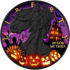 USA 2017 1$ American Eagle 1oz Halloween Silver .999 Coin PRE-SALE