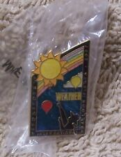 2007 WEATHER ALBUQUERQUE INTERNATIONAL BALLOON FIESTA BALLOON PIN