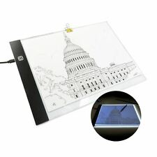 A4 Paper LED Tracing Drawing Art Stencil Pad Light Board Adjustable Brightness