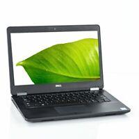 Dell Latitude E5470 Intel Core i7-6600U 2.60GHz 16GB 256GB SSD Windows 10 Pro
