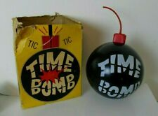 Vintage 1964 Milton Bradley Time Bomb Game with Directions! Tested and Works!