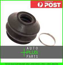 Fits TOYOTA HILUX SURF/4RUNNER 2002-2009 - Front Upper Arm Ball Joint Boot