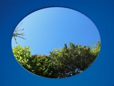 NEW ROUND PLASTIC MIRROR WALL TILES ANTI-SHATTER SAFETY MIRROR PERSPEX SHEET