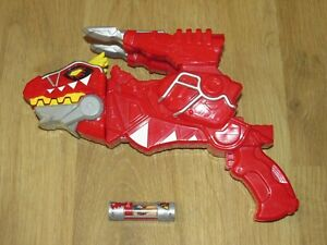 Power Rangers T Rex Red Dino Charge Morpher Gun #1 Dino Charger