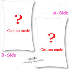 Anime Custom Made Dakimakura DIY Bedding Cushion Pillow Case Cover Customize