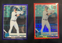 Kyle Tucker 2019 Donruss Optic PURPLE # /125 And Red /99 RC ROOKIE