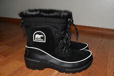 NWT Womens SOREL TIVOLI III Black Waterproof Boots Size 11