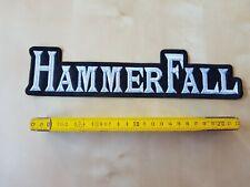 Hammerfall Patch,Aufnäher, Heavy Metal Kutte,Manowar,Helloween,Iron Maiden.