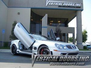 Vertical Doors - Vertical Lambo Door Kit For Mercedes SL 2003-10 -VDCMERSL0310