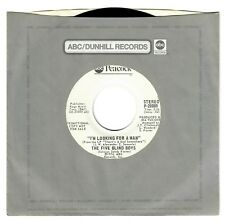 The Five Blind Boys 1974 ABC Peacock 45rpm I'm Looking For A Man Mono & Stereo