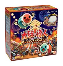 NEW PS4 TAIKO NO TATSUJIN Drum & Game set Don Don Don JAPAN OFFICIAL