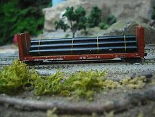 N Scale Load for  52 ft Bulkhead Flat Car
