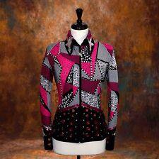 X-Small Showmanship Pleasure Horsemanship Show Jacket Shirt Rodeo Queen Rail Top