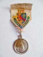 Médaille Catholique NOTRE DAME DE MOULINS à Lourdes ORIGINAL French Medal order