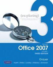 Exploring Microsoft Office 2007 Vol. 1 (3rd Edition), Robert T. Grauer, Michelle