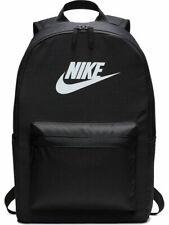 Nike Heritage 2.0 Backpack Black Men Women School College Travel Summer