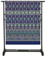 Copritutto telo arredo Granfoulard Copridivano Copriletto Gabel 180 x 270 blu