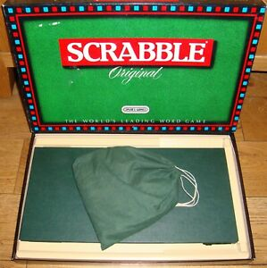 SPEARS SCRABBLE IN VERY GOOD USED CONDITION ~ LATE 1980's