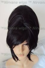 Black High Cone Beehive 60's Style Womens/Mens Drag?  Wig