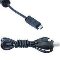 USB Cable Cord for Nikon Coolpix L / P / S Series Digital Camera, UC-E6 / UCE6