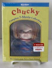 Chucky: Complete 7-Movie Collection 7 Disc Blu-ray Set Lenticular Cover DigiPack