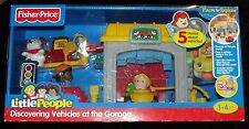 Little People Discovering Vehicles at the Garage Fisher-Price Cars Set Children